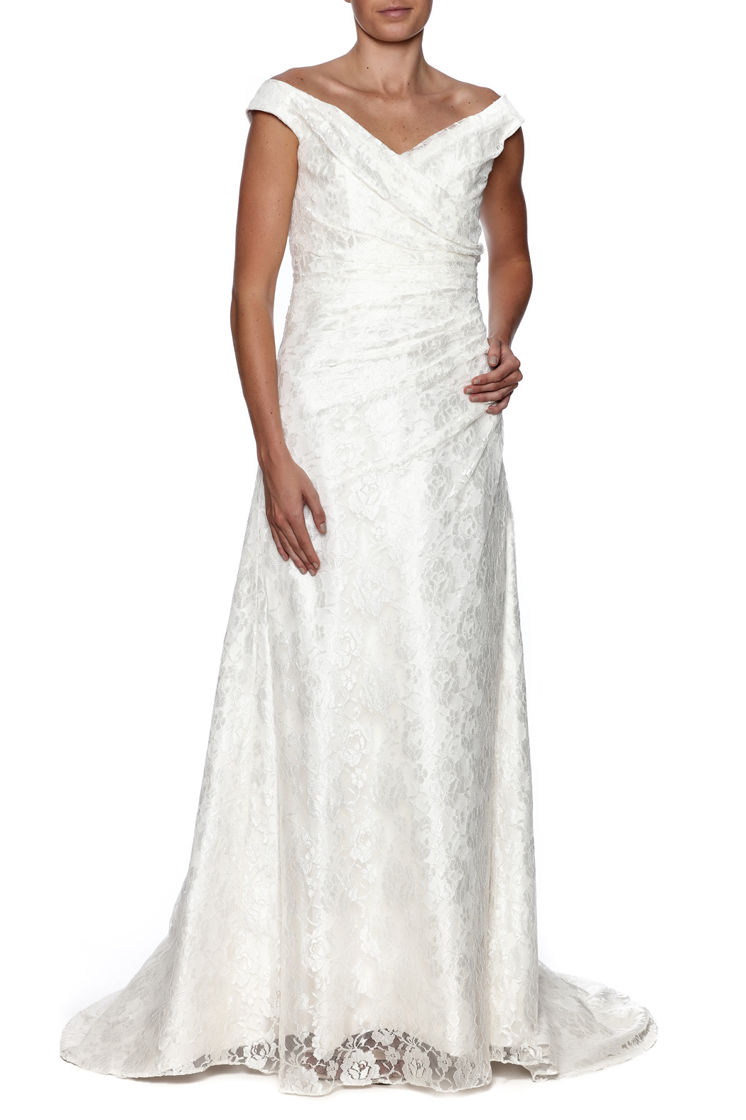 Cicada Lace Heather Gown - Main Image