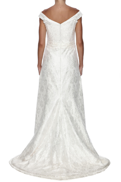Cicada Lace Heather Gown - Alternate List Image