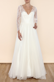 50s Wedding Dress, 1950s Style Wedding Dresses, Rockabilly Weddings Madeline Gown $1,895.00 AT vintagedancer.com