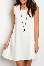 Ciel Cape Tunic Dress - Product Mini Image