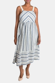 Ciel Shoreside Striped Dress - Front full body