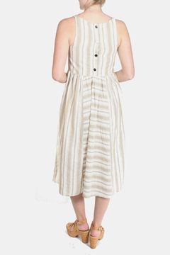 Ciel Striped Canvas Dress - Alternate List Image