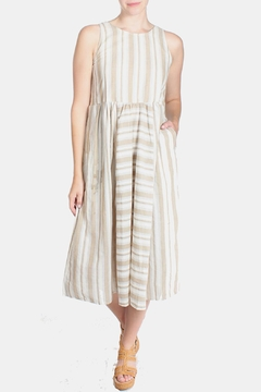 Ciel Striped Canvas Dress - Product List Image