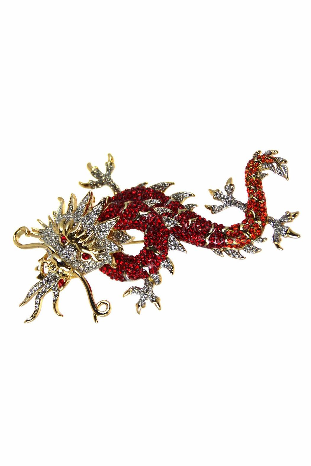 Ciel Collectables Dragon Pin Red Orange - Main Image
