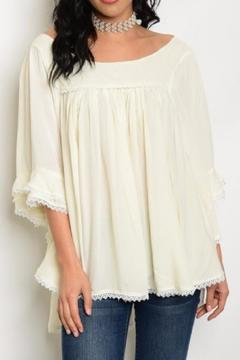 Shoptiques Product: Lace Trimmed Top