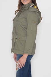 Cielo Anorak Drawstring Jacket - Front full body