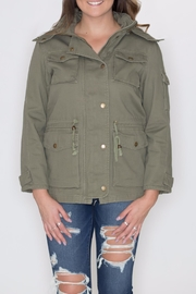 Cielo Anorak Drawstring Jacket - Product Mini Image