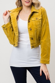 Cielo Corduroy Cropped Jacket - Product Mini Image