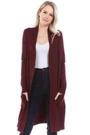 Cielo Long Open Cardigan - Product Mini Image