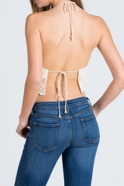 Cien Halter Top - Back cropped