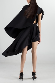 Cihuah Asymmetric Cape - Front full body
