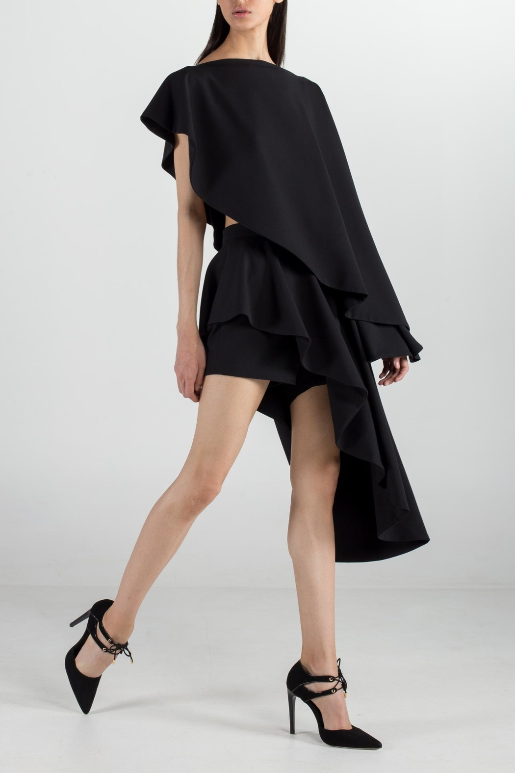Cihuah Asymmetric Cape - Main Image