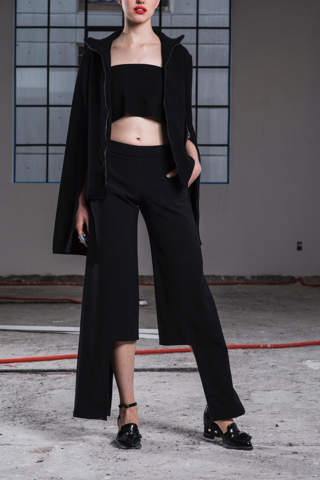 Cihuah Asymmetrical Pants - Main Image