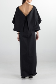 Cihuah Long Cape Dress - Front full body
