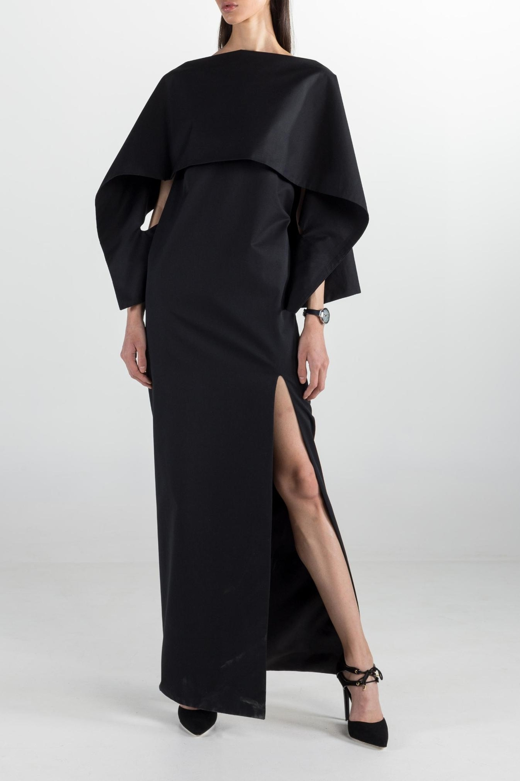 Cihuah Long Cape Dress - Main Image