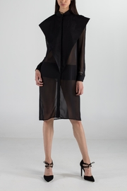 Cihuah Triangle Detail Dress - Front full body
