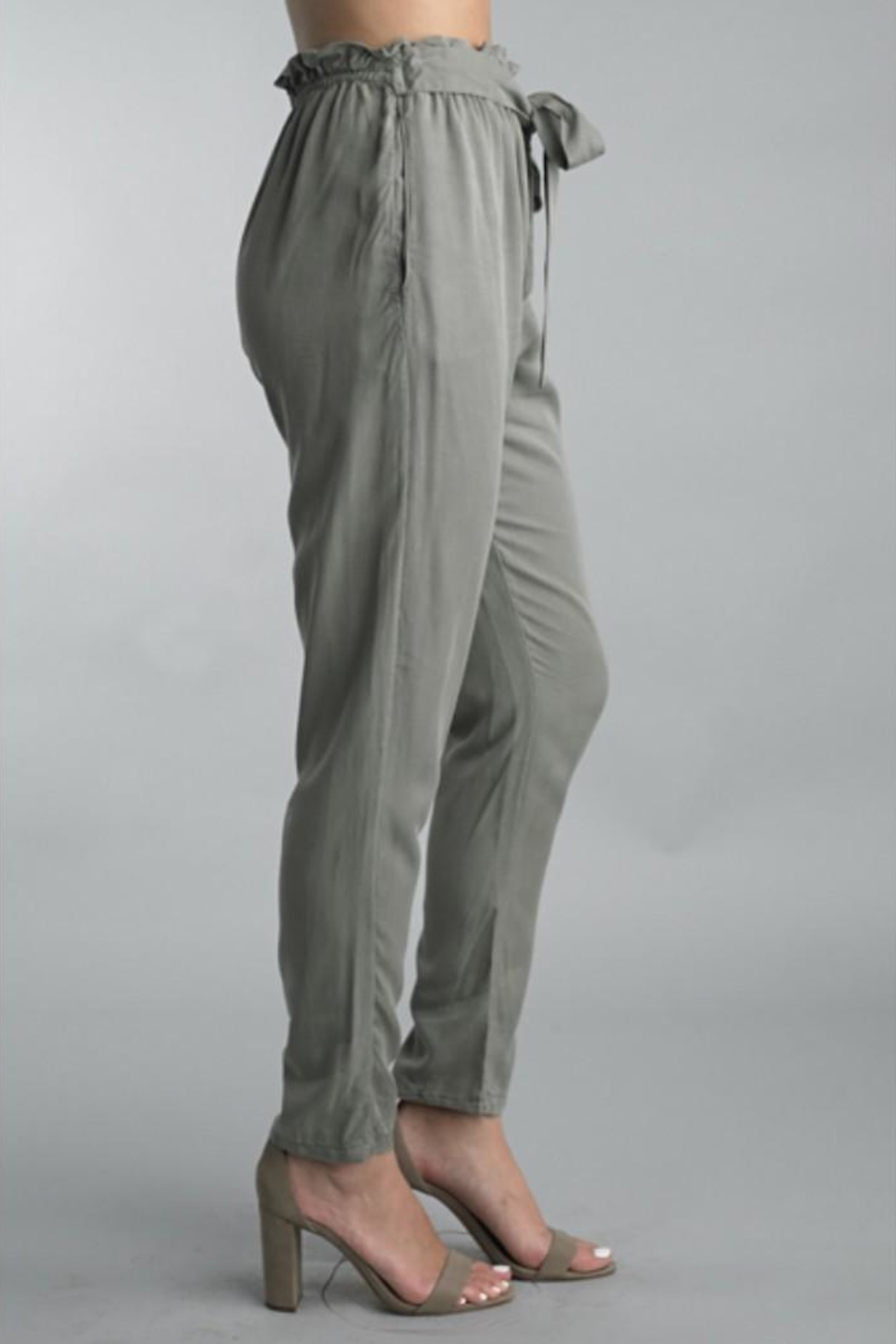 Bolufe Cinch-Waist Jogger Pant - Side Cropped Image