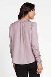 Current Air Cinched L/S Blouse - Front full body