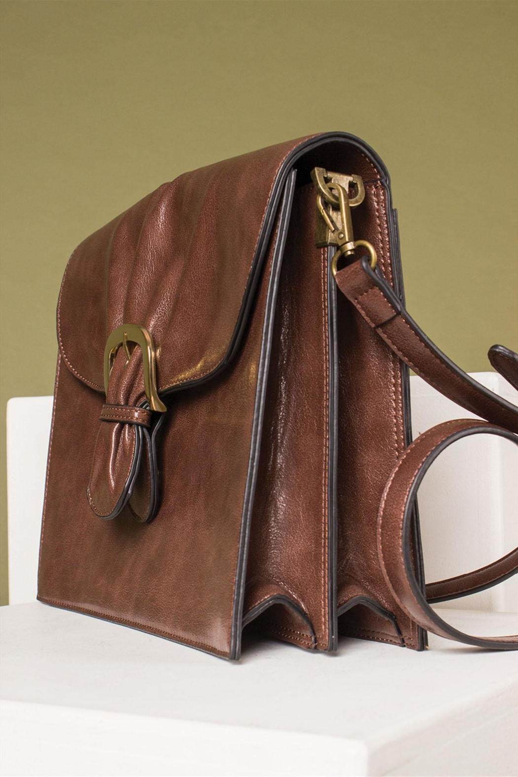 Simply Noelle Cinched Signature Bag - Back Cropped Image