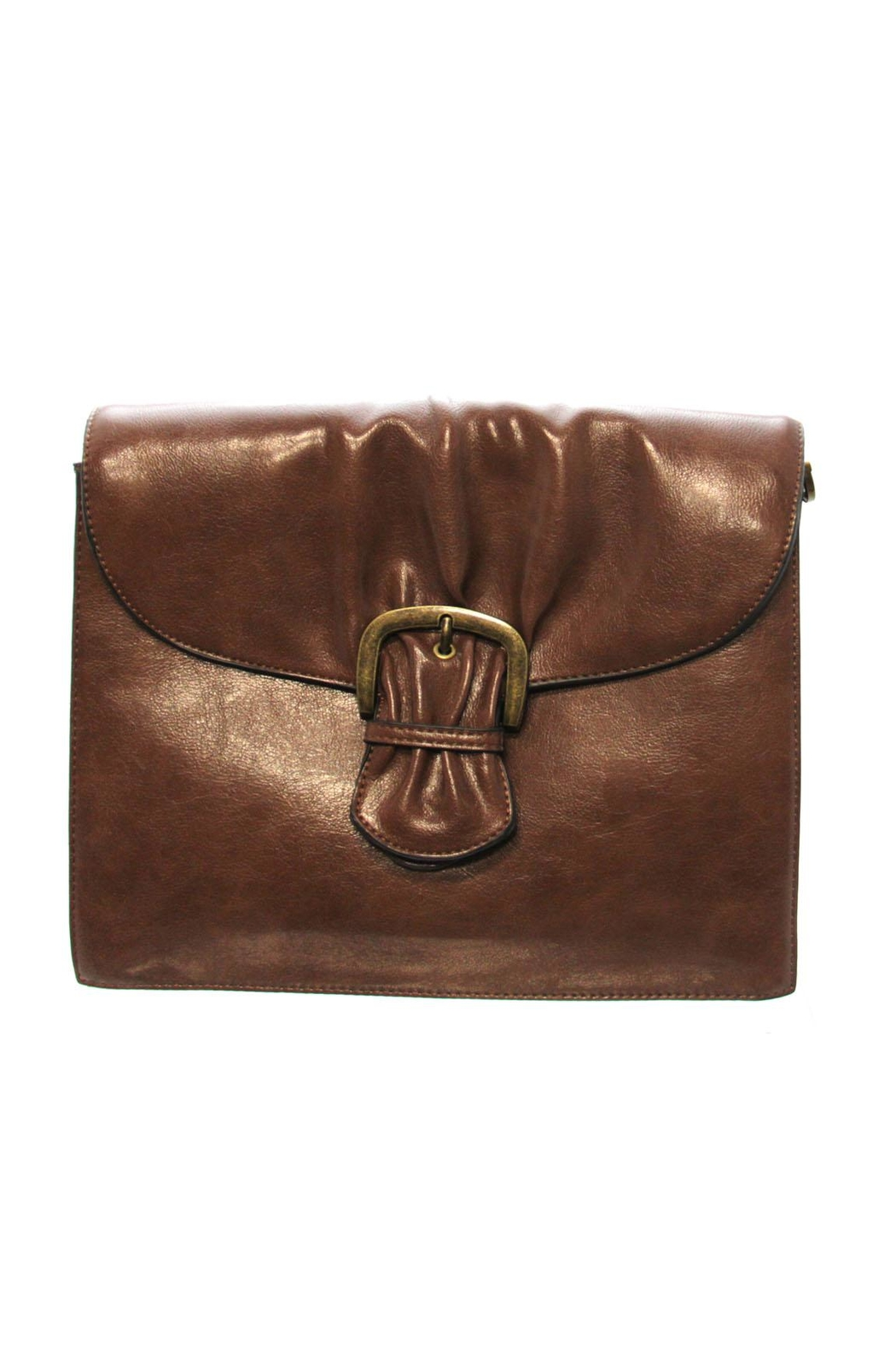 Simply Noelle Cinched Signature Bag - Front Cropped Image