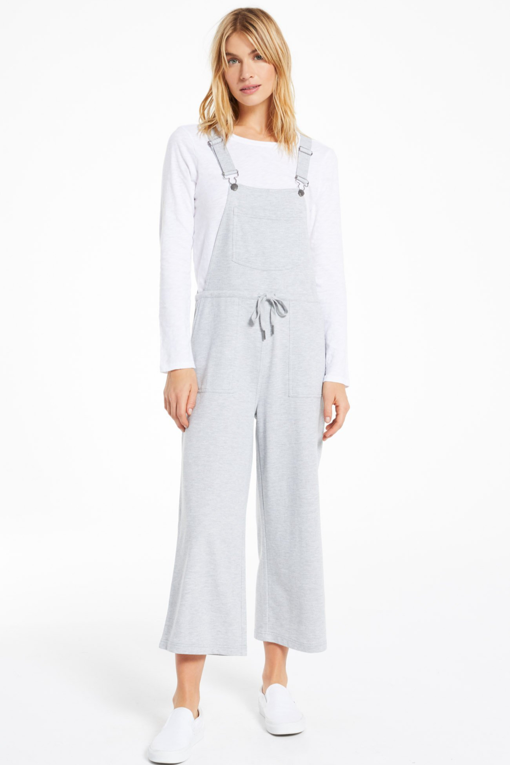 z supply Cinched Waist Overalls - Main Image