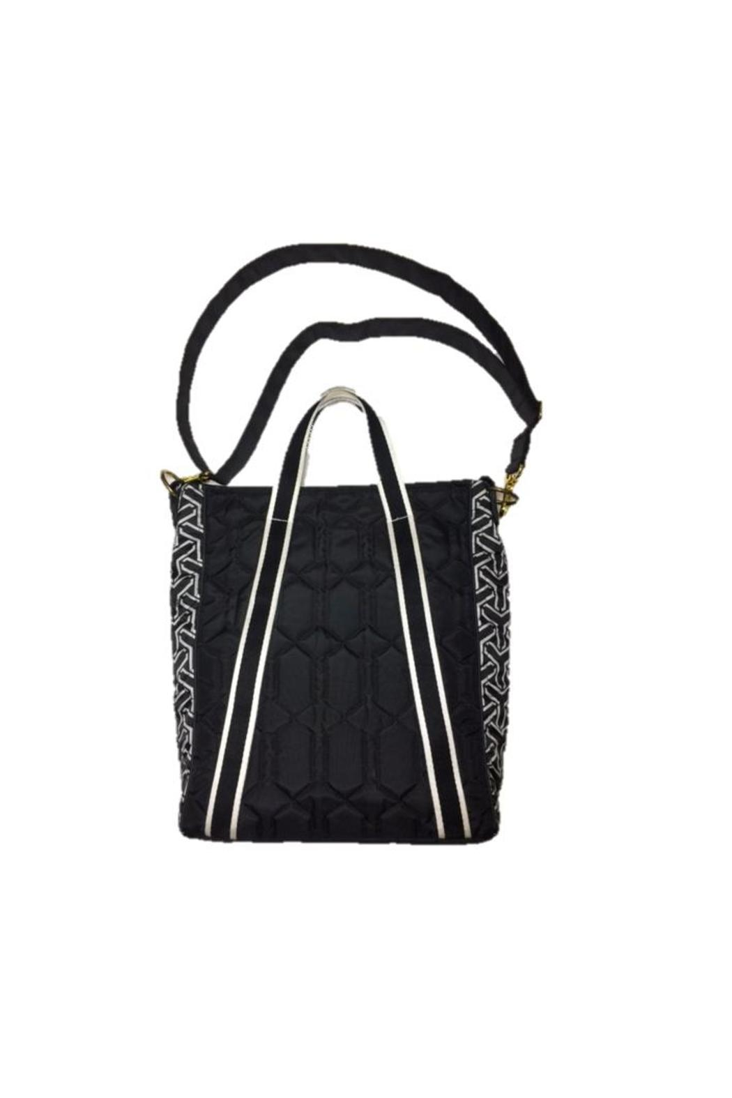 Cinda B Black Vertical Tote - Front Cropped Image