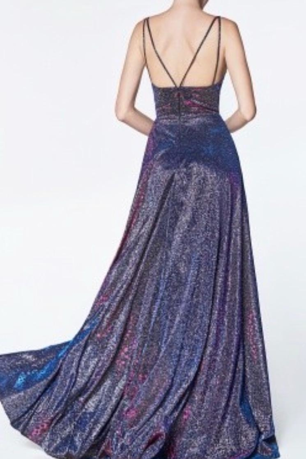 Cinderella Divine Sparkle Glitter Gown - Front Full Image