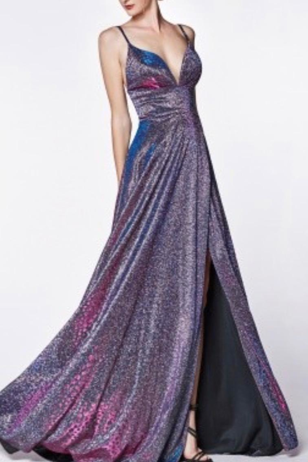 Cinderella Divine Sparkle Glitter Gown - Front Cropped Image