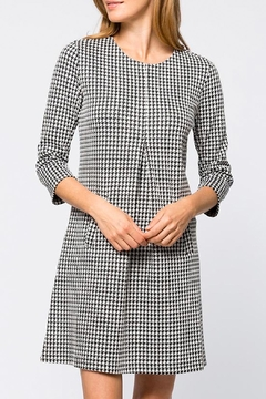 Tyler Boe Cindy Dress Houndstooth - Product List Image