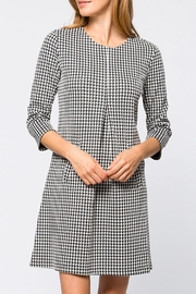 Tyler Boe Cindy Dress Houndstooth - Product Mini Image