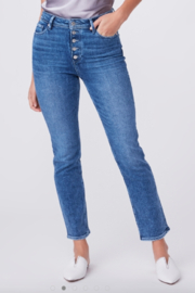 Paige Denim Cindy w/exposed Buttonfly - Product Mini Image