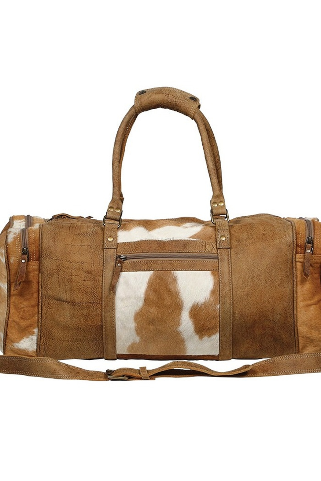 Myra Bags CINNAMON TRAVELLER BAG - Front Cropped Image