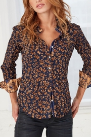 cino Floral Crinkle Shirt - Product Mini Image