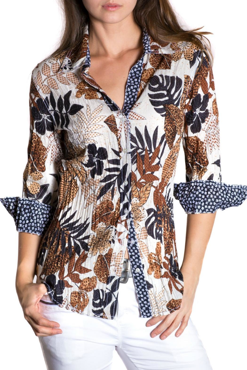 cino Jungle Print Shirt - Main Image