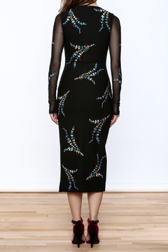Cinq a Sept Black Bodycon Midi Dress - Alternate List Image