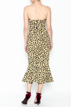 Cinq a Sept Leopard Luna Dress - Alternate List Image