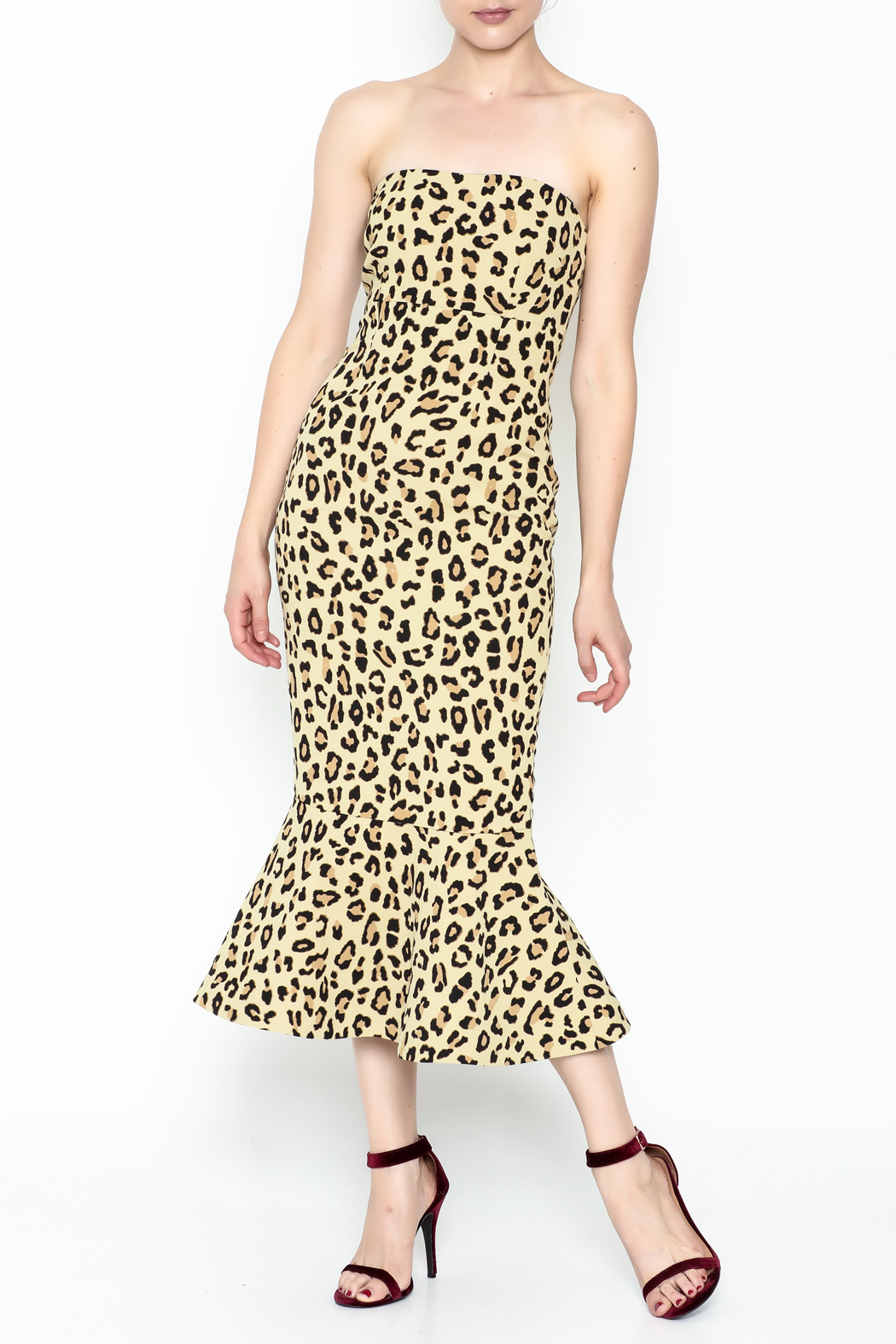 4c0196cad41e Cinq a Sept Leopard Luna Dress from Florida by Rue — Shoptiques