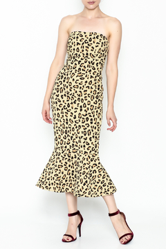 Cinq a Sept Leopard Luna Dress - Product List Image