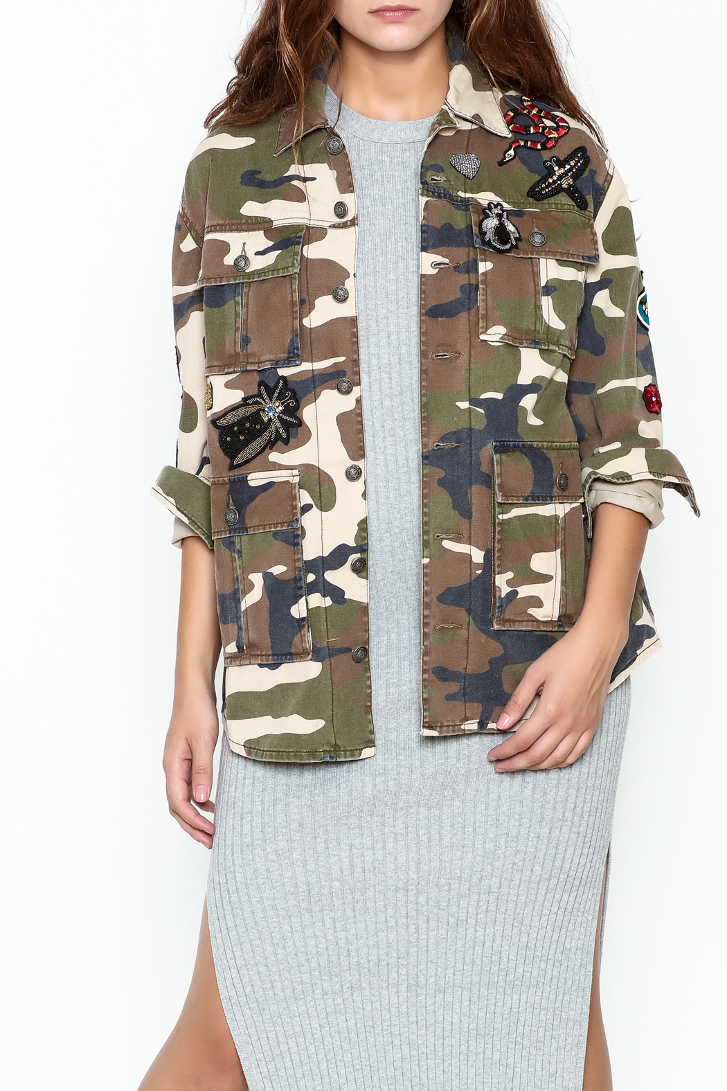 Cinq a Sept Rose Canyon Jacket - Front Cropped Image