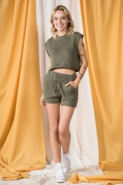 Very J  Circe Knit Set - Front cropped