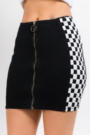 TIMELESS Circle Checker Skirt - Product Mini Image