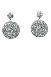 Lets Accessorize Circle Drop Earrings - Product Mini Image
