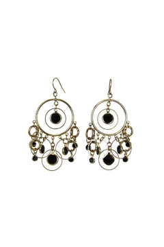 Diane's Accessories Circle Gold Earrings - Alternate List Image