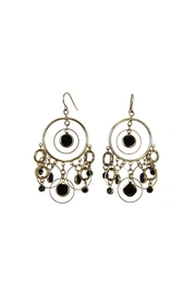Diane's Accessories Circle Gold Earrings - Product Mini Image