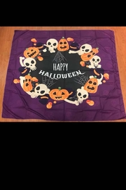 New Mix Circle Halloween Tapestry - Product Mini Image