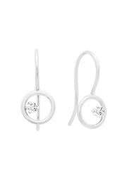 Crislu Circle Hook Earrings - Product Mini Image