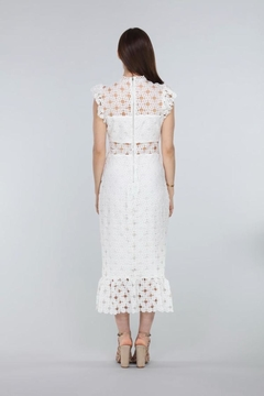 Just Me Circle Lace Midi-Dress - Alternate List Image