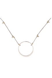 Bronwen Circle Of Life Silver Necklace - Product Mini Image