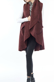 Look by M Circle Pocket Shawl Vest - Product Mini Image