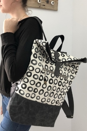 The Lovet Shop Circle Print Backpack - Product Mini Image
